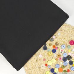 Toile 100% laine lourd noir