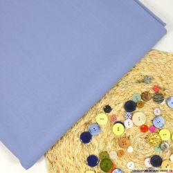 Crêpe 100% laine bleu clair