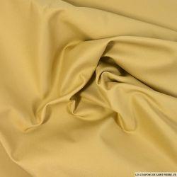 Tissu imperméable lourd polycoton beige