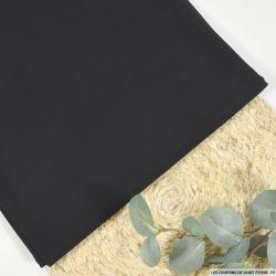 Crêpe 100% laine vierge noir