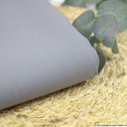 Crêpe de soie et laine gris