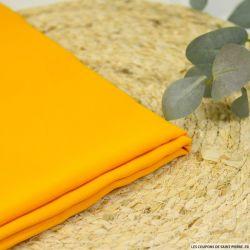Crêpe de soie acétate curcuma