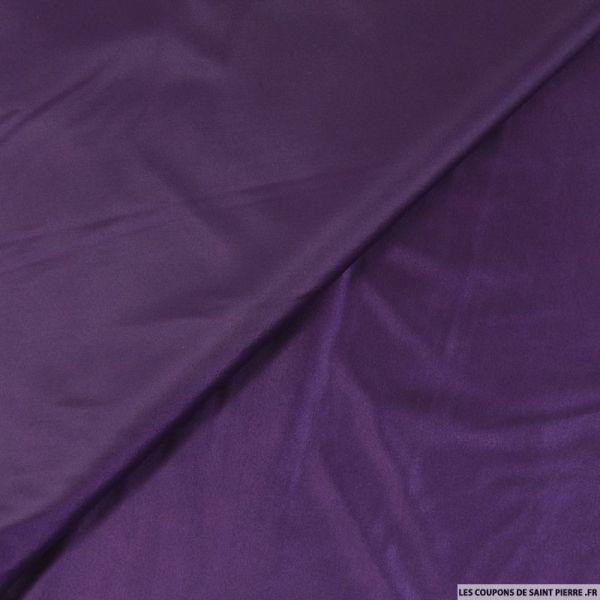 Jersey polyester brillant violet