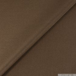 Jersey polyester irisé marron
