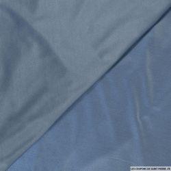 Tissu technique bleu minéral