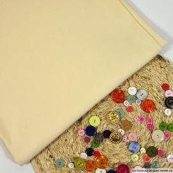 Tissu tailleur laine et soie écru