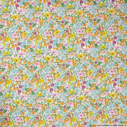 Coton liberty ® Poppy Forest Rainbow au mètre