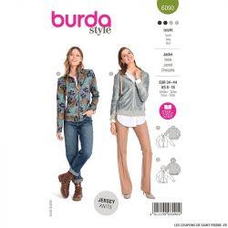 Patron Burda n°6090: Veste
