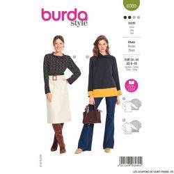 Patron Burda n°6090: Blouse
