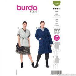 Patron Burda n°6097: Veste