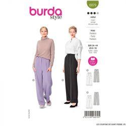 Patron Burda n°6079: Pantalon