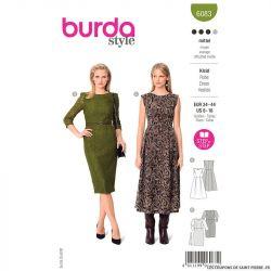 Patron Burda n°6083 : Robe