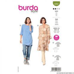 Patron Burda n°6060 : Robe