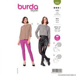 Patron Burda n°6062 : Blouse