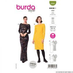 Patron Burda n°6068 : Robe