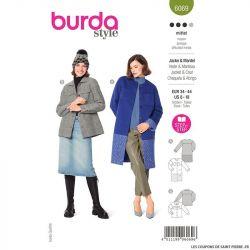 Patron Burda n°6069 : Veste & Manteau