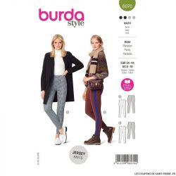 Patron Burda n°6070 : pantalon
