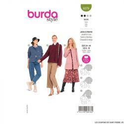 Patron Burda n°6076 : Veste & Manteau