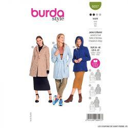 Patron Burda n°6057 : Veste & Manteau