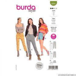 Patron Burda n°6054 : Pantalon & Short
