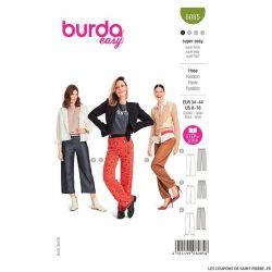 Patron Burda n°6085 : Pantalon
