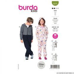 Patron Burda n°9275 : Combinaison