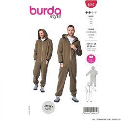 Patron Burda n°6065: Combinaison