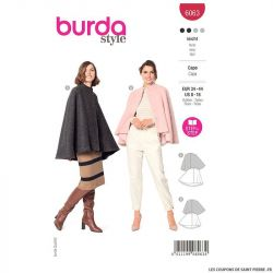 Patron Burda n°6063: Cape