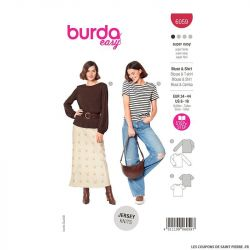 Patron Burda n°6059 : Blouse & T-shirt
