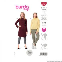 Patron Burda n°6080 : Robe et T-shirt