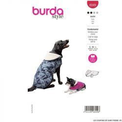 Patron Burda n°6049 : Manteau pour chien