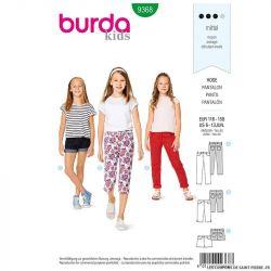 Patron Burda n°9268: Enfant manteau & veste