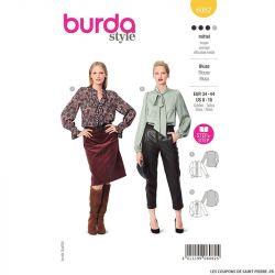 Patron Burda n°6082: Blouse