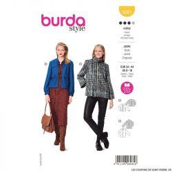Patron Burda n°6081: Veste