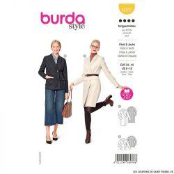 Patron Burda n°6078: Robe & Veste