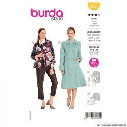 Patron Burda n°6092: Veste & manteau