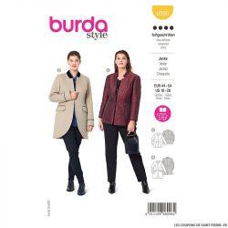 Patron Burda n°6096: Veste