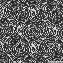 Dentelle polycoton beauté légère noir