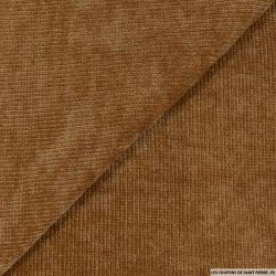 Maille chenille marron