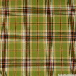 Clan écossais vert, noir et orange