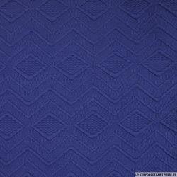 Maille contrecollée théorème bleu violacé