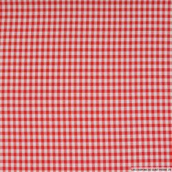 Vichy polyester rouge 4mm