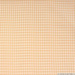 Vichy polyester beige 4mm