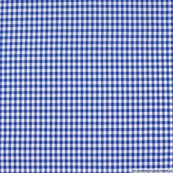 Vichy polyester bleu 4mm