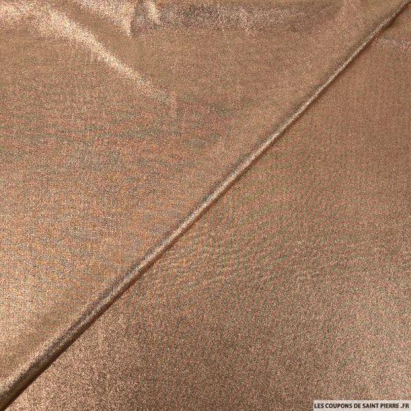 Jersey imprimé cuivre
