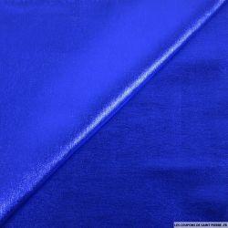 Bengaline imprimée bleu