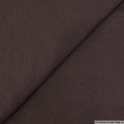 Maille de laine mélangée marron