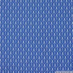 Coton imprimé par l'union fond marine