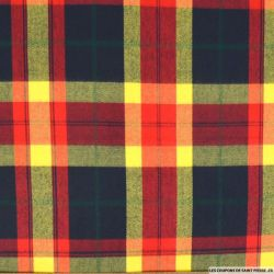 Clan écossais jaune rouge et marine