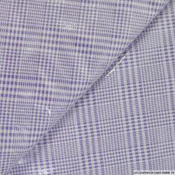 Ciré imperméable prince de galle violet